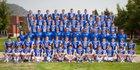 Grants Pass Cavemen Boys Varsity Football Fall 18-19 team photo.