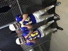 Fall River Bulldogs Boys Varsity Football Fall 18-19 team photo.