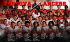 Cordova Lancers Boys Varsity Football Fall 18-19 team photo.