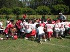 Rolesville Rams Boys Varsity Football Fall 18-19 team photo.
