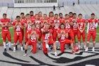 Brighton Bulldogs Boys Varsity Football Fall 18-19 team photo.