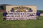 Booneville Bearcats Boys Varsity Football Fall 18-19 team photo.