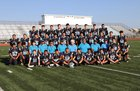 Capital Jaguars Boys Varsity Football Fall 18-19 team photo.