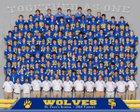 St. Paul's Wolves Boys Varsity Football Fall 18-19 team photo.