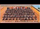 LaPorte Slicers Boys Varsity Football Fall 18-19 team photo.