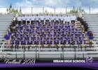 Hiram Hornets Boys Varsity Football Fall 18-19 team photo.