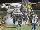 Vidor Pirates Boys Varsity Football Fall 18-19 team photo.