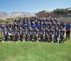 Catalina Foothills Falcons Boys Varsity Football Fall 18-19 team photo.