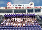 Ross Little Giants Boys Varsity Football Fall 18-19 team photo.