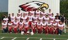 Johnson-Brock Eagles Boys Varsity Football Fall 18-19 team photo.
