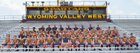 Wyoming Valley West Spartans Boys Varsity Football Fall 18-19 team photo.