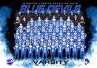Bismarck-Henning/Rossville-Alvin  Boys Varsity Football Fall 18-19 team photo.
