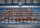 Silver Fighting Colts Boys Varsity Football Fall 18-19 team photo.