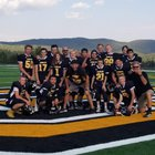 Gilpin County  Boys Varsity Football Fall 18-19 team photo.