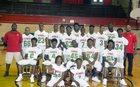 Fenger Titans Boys Varsity Football Fall 18-19 team photo.