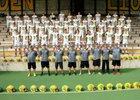 Lynden Lions Boys Varsity Football Fall 18-19 team photo.