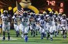Odem Owls Boys Varsity Football Fall 18-19 team photo.
