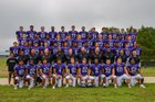 Porter Ridge Pirates Boys Varsity Football Fall 18-19 team photo.