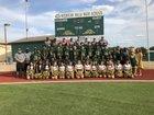 Western Hills Cougars Boys Varsity Football Fall 18-19 team photo.