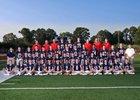 Madison-Ridgeland Academy Patriots Boys Varsity Football Fall 18-19 team photo.