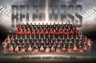 Rockwall-Heath Hawks Boys Varsity Football Fall 18-19 team photo.
