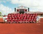 El Campo Ricebirds Boys Varsity Football Fall 18-19 team photo.