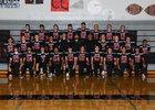 Raymond Seagulls Boys Varsity Football Fall 18-19 team photo.