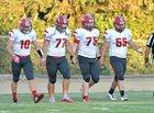 East Nicolaus Spartans Boys Varsity Football Fall 18-19 team photo.