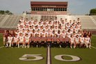 Siloam Springs Panthers Boys Varsity Football Fall 18-19 team photo.