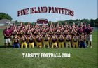 Pine Island Panthers Boys Varsity Football Fall 18-19 team photo.
