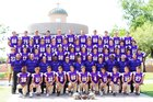 Notre Dame Prep Saints Boys Varsity Football Fall 18-19 team photo.