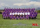 Manzano Monarchs Boys Varsity Football Fall 18-19 team photo.