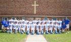 Resurrection Catholic Eagles Boys Varsity Football Fall 18-19 team photo.