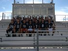Chaparral Lobos Boys Varsity Football Fall 18-19 team photo.