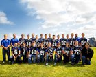 Thunder Ridge Longhorns Boys Varsity Football Fall 18-19 team photo.