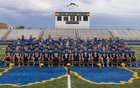Orem Tigers Boys Varsity Football Fall 18-19 team photo.