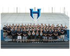 Hockinson Hawks Boys Varsity Football Fall 18-19 team photo.