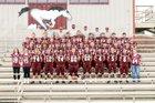 Perryville Mustangs Boys Varsity Football Fall 18-19 team photo.