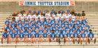 Mortimer Jordan Blue Devils Boys Varsity Football Fall 18-19 team photo.