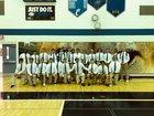 Canterbury Cougars Boys Varsity Football Fall 18-19 team photo.