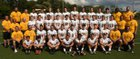 McQuaid Jesuit Knights Boys Varsity Football Fall 18-19 team photo.