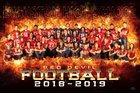 Evanston Devils Boys Varsity Football Fall 18-19 team photo.