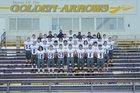 Lavaca Golden Arrows Boys Varsity Football Fall 18-19 team photo.