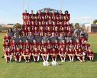 Mountain Ridge Mountain Lions Boys Varsity Football Fall 18-19 team photo.