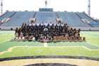 Central Tigers Boys Varsity Football Fall 18-19 team photo.