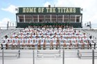 Blessed Trinity Titans Boys Varsity Football Fall 18-19 team photo.