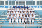 Bald Knob Bulldogs Boys Varsity Football Fall 18-19 team photo.