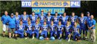 Pike Valley Panthers Boys Varsity Football Fall 18-19 team photo.