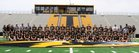 Alamogordo Tigers Boys Varsity Football Fall 18-19 team photo.