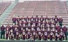 Grapeland Sandies Boys Varsity Football Fall 18-19 team photo.